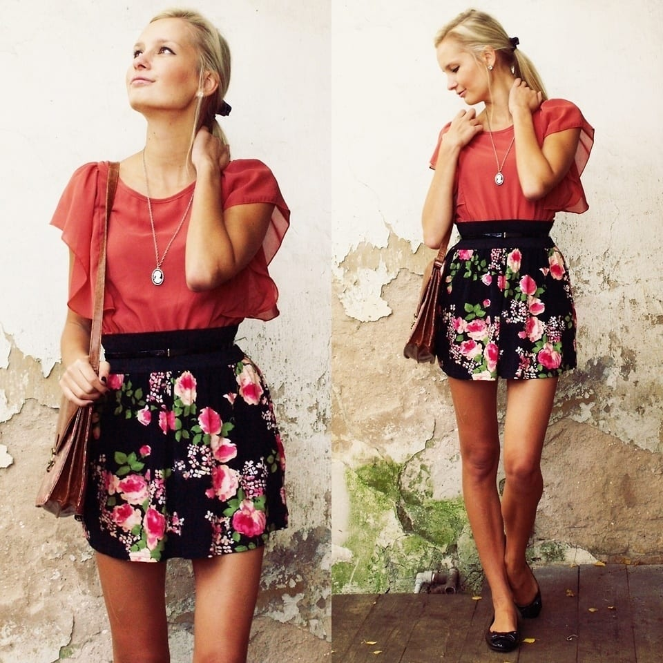 1820862_2 20 Ideas How to Style Floral Skirts This Spring/Summer