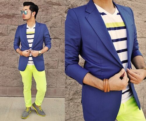 Ideas for Men to wear Neon Outfits (8)