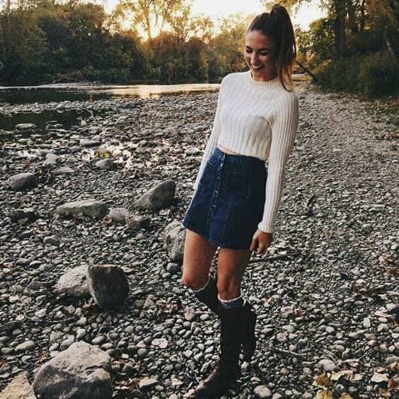 Stylish Outfits Using Simple Clothing (18)