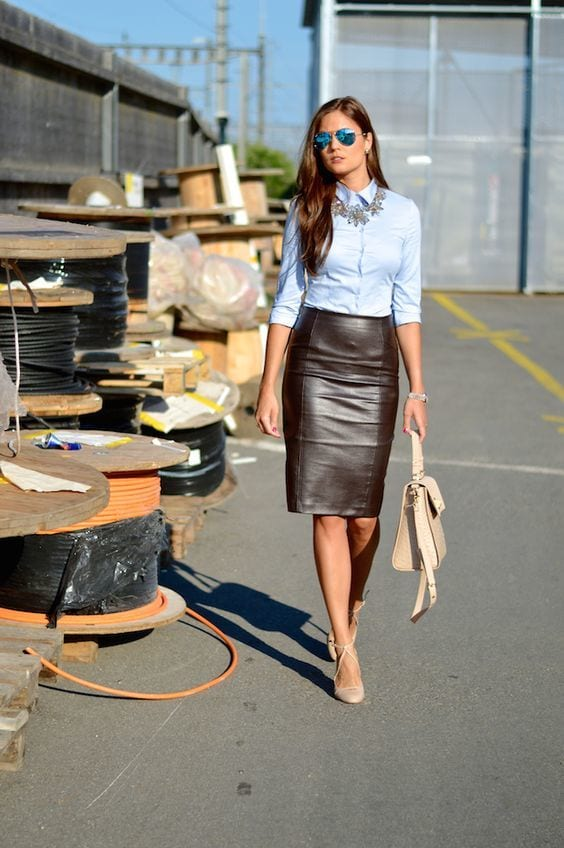Stylish Outfits Using Simple Clothing (17)