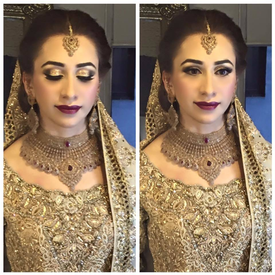 994742_591828774315034_1032298711644551715_n-1 20 Pakistani Wedding Hairstyles for a Perfect Looking Bride