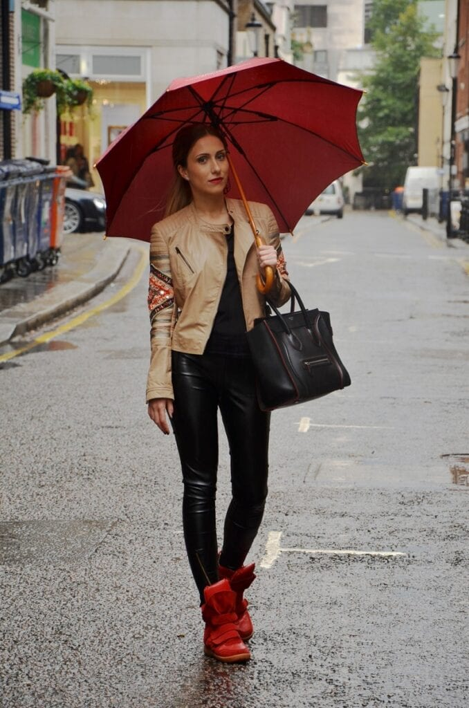 Rainy Day Oufits (15)