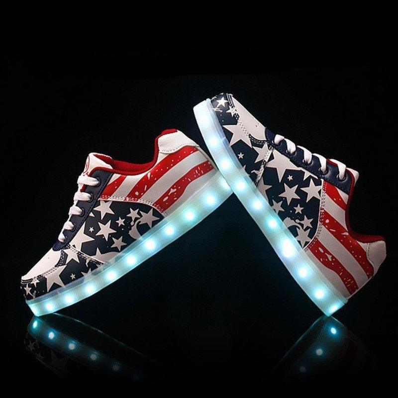 New-2016-Fashion-Women-Shoes-Led-For-Adults-Schoenen-men-Casual-Chaussures-Lumineuse-Light-Up-Shoes_1024x1024 18 Chic 4th of July Outfits For Plus Size Women 2018