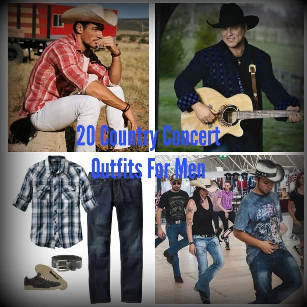 PicMonkey-Collage-13-1024x1024 Country Concert Outfit Ideas For Men - 20 Styles To Try