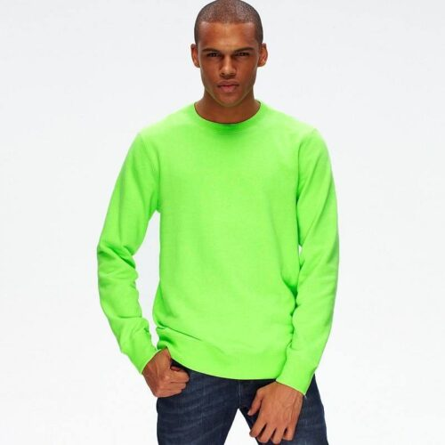VANCL-Neon-Culture-Crew-Neck-Pullover-Men-Lime-SKU_10321065.bak_-500x500 Neon Outfits for Men - 17 Latest Neon Fashion Trends to Follow