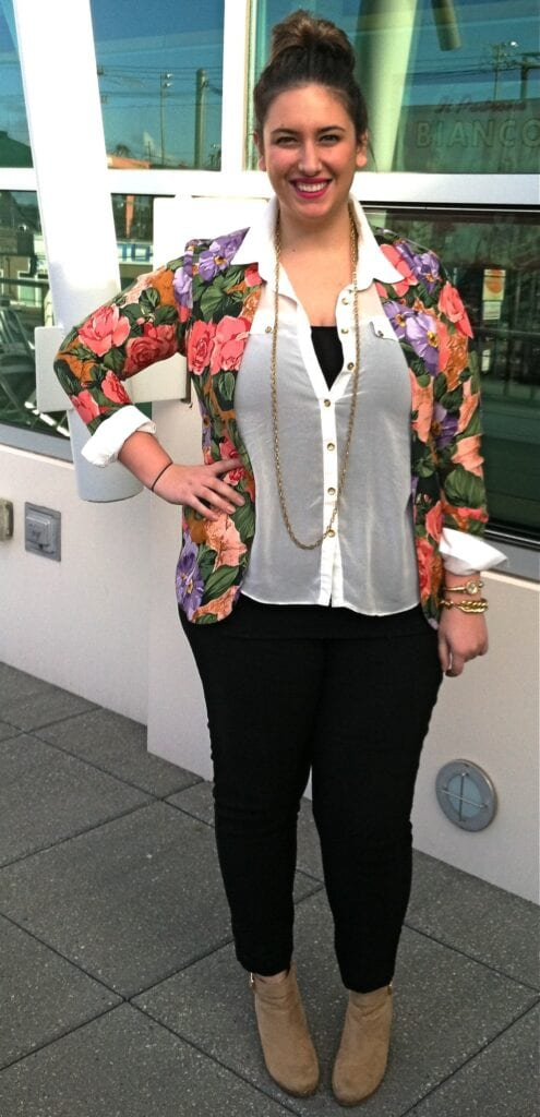 Stylish ways for curvy and plus size women to wear Blazer (16)