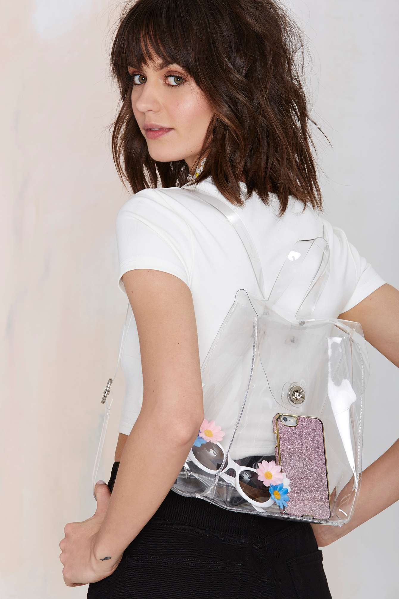 Most Beautiful Clear and Transparent Handbags-See Through Accessories