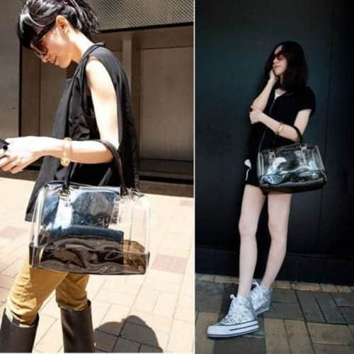 cbo2 How to Wear Clear Bags and Purses to Work