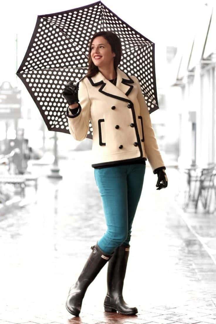 Raniy Day Outfits Ideas- 26 Cute Ways To Dress On Rainy Day