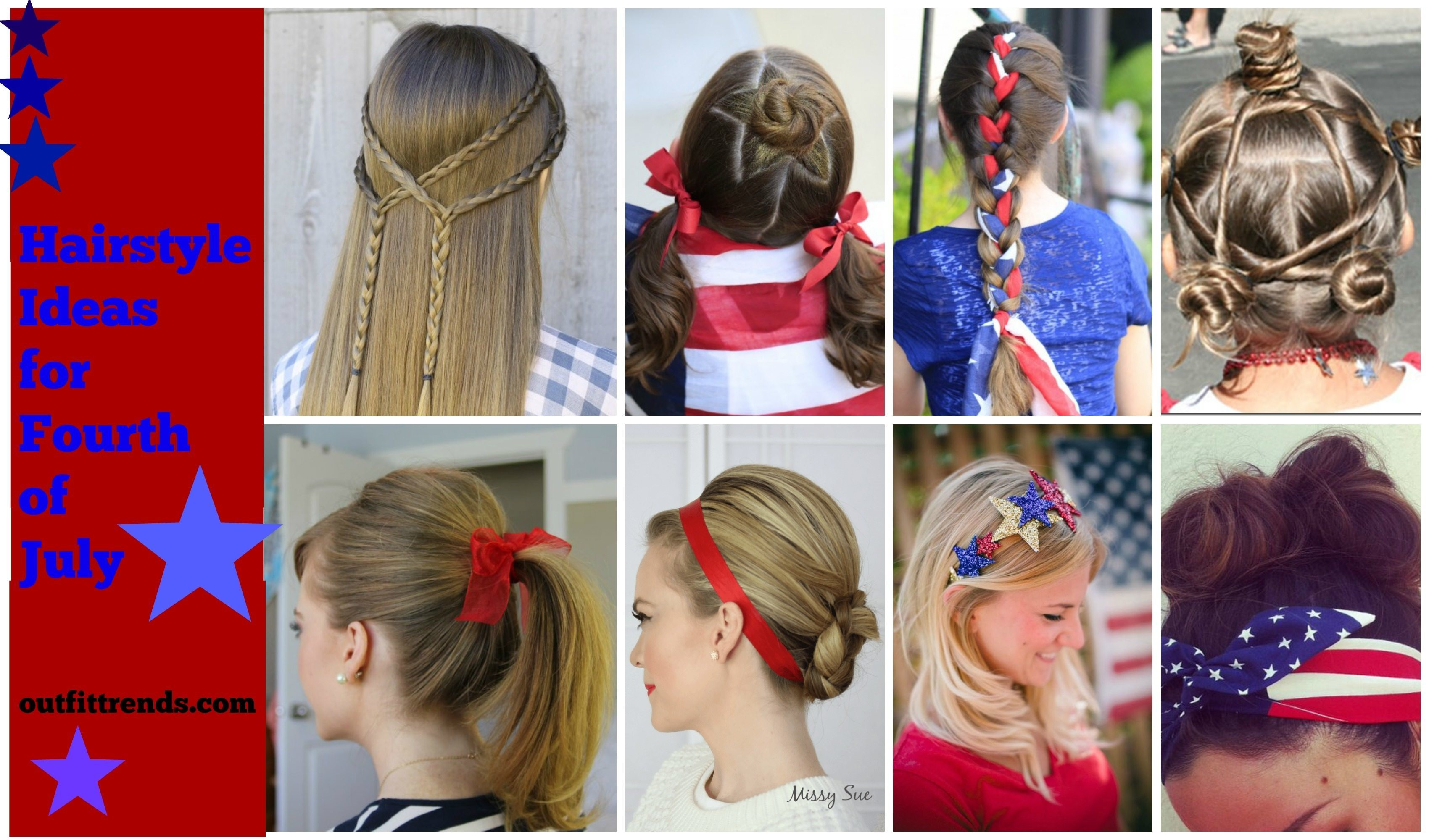 fourth july hairstyles