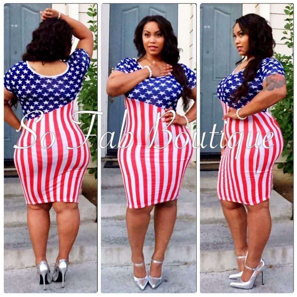 image 18 Chic 4th of July Outfits For Plus Size Women 2018