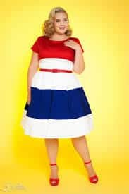 images 18 Chic 4th of July Outfits For Plus Size Women 2018