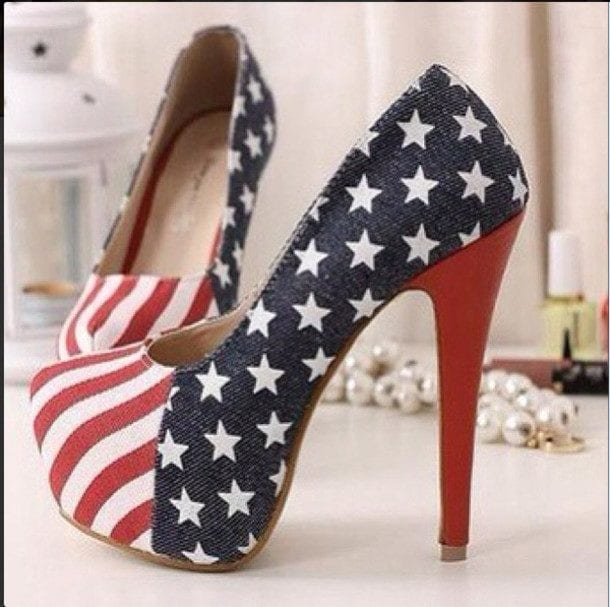 lbfwvp-l-610x610-shoes-usa-american-americanflag-highheels-heels-4thjuly 18 Chic 4th of July Outfits For Plus Size Women 2018