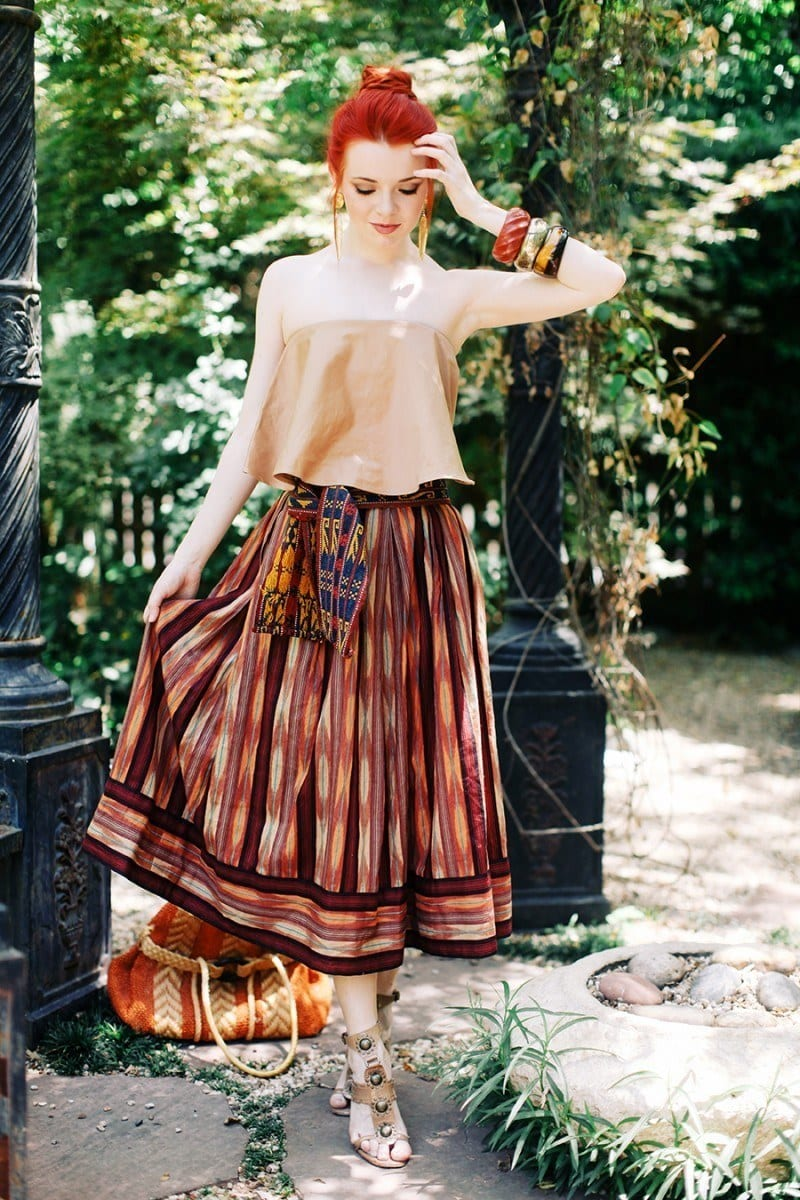 Peasant Skirts Outfits-17 Ways to Wear Peasant Skirts Rightly