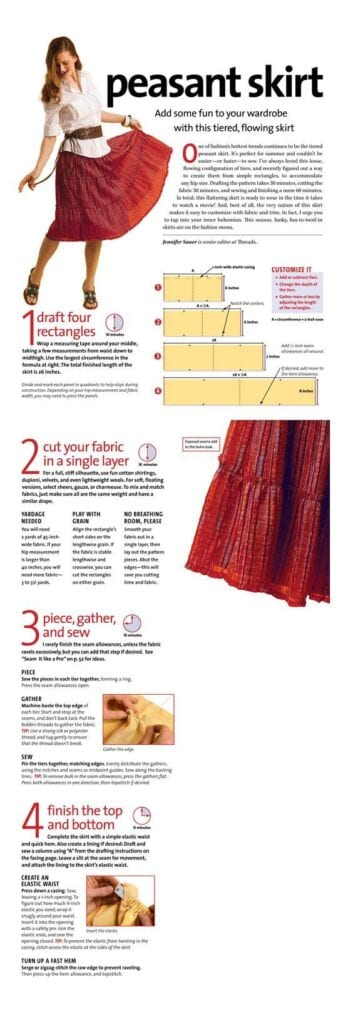 peasant-skirt-outfit-ideas-4-353x1024 Peasant Skirts Outfits-17 Ways to Wear Peasant Skirts Rightly