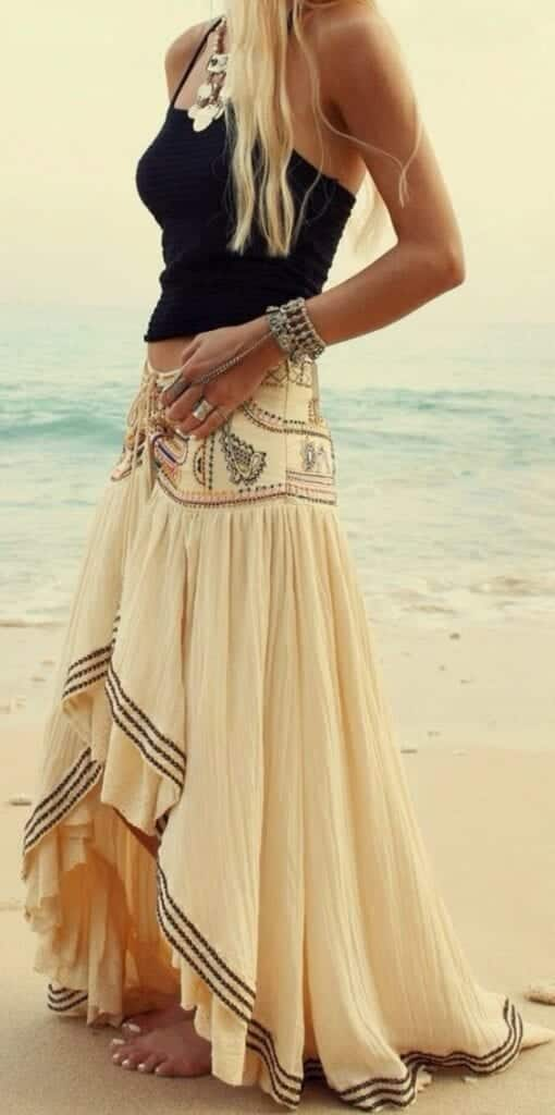 peasant-skirt-outfit-ideas-5-510x1024 Peasant Skirts Outfits-17 Ways to Wear Peasant Skirts Rightly