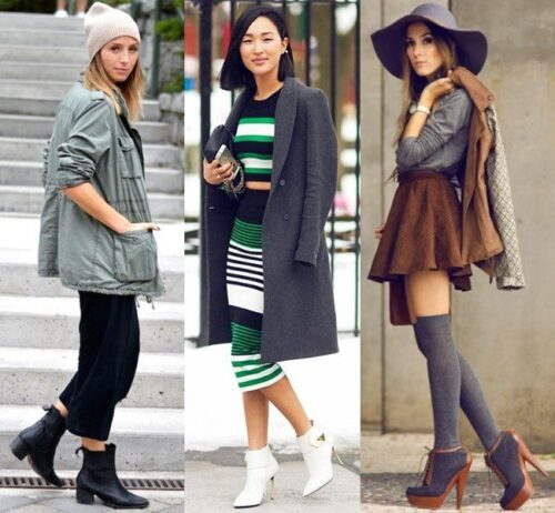 How to wear Shearling Boots - Ideas to wear Dresses with boots (11)