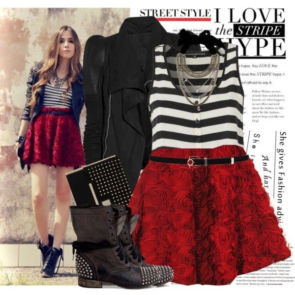 11-1 Rocker Chic Outfits-17 Ways To Dress Like a Rocker Chic