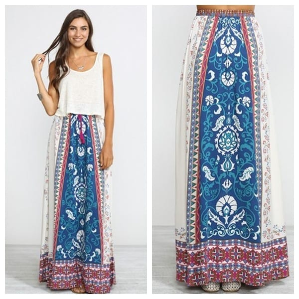 8-4 Hippie Skirts Outfits- 16 Ideas How to Wear Hippie Skirts