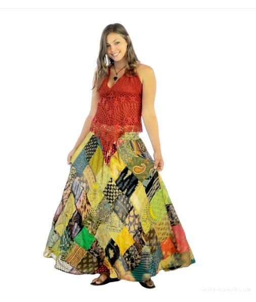 9-4 Hippie Skirts Outfits- 16 Ideas How to Wear Hippie Skirts
