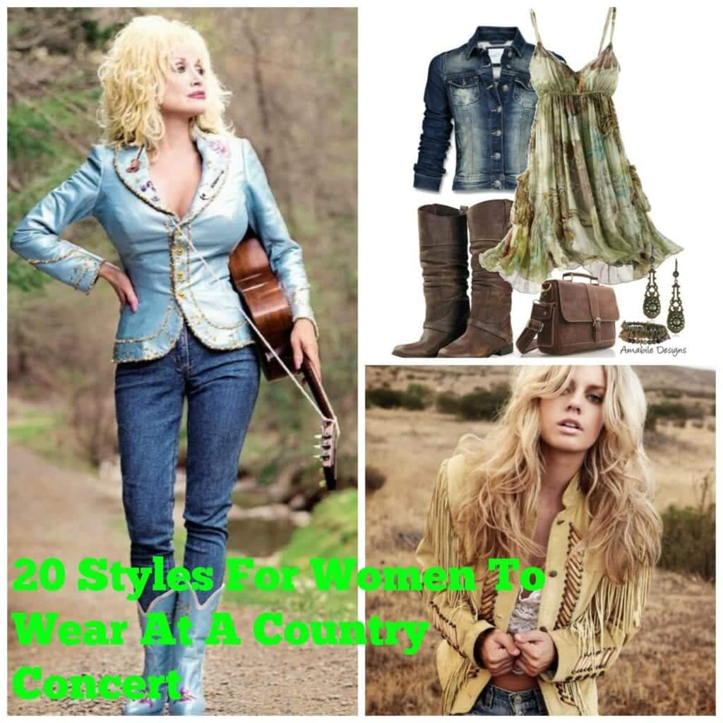 PicMonkey-Collage-2-1024x1024 Country Concert Outfits For Women - 20 Styles To Try