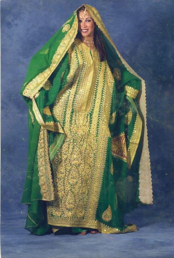 Picture-002 Wedding Abayas- 30 Latest Bridal Abaya Designs Trending Now