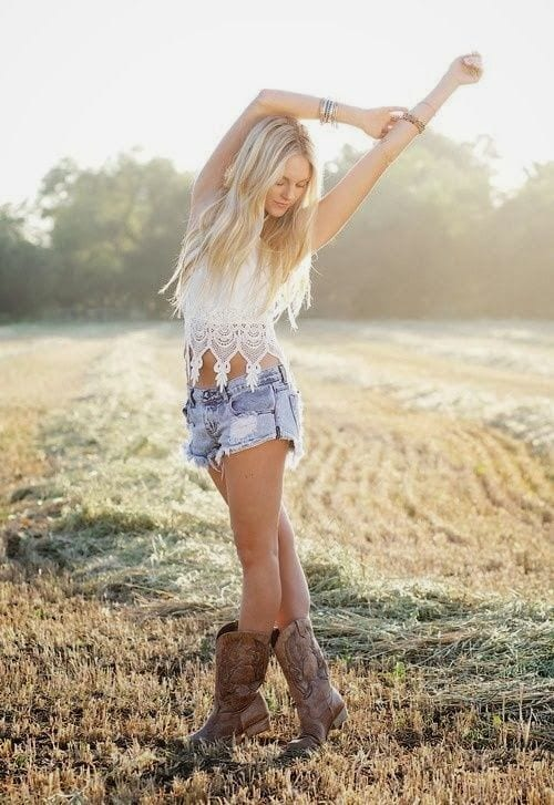 d802b7632c2a71ccbaea53ed418faaa2 Country Concert Outfits For Women - 20 Styles To Try