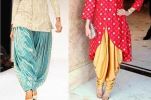 how to wear dhoti shalwar