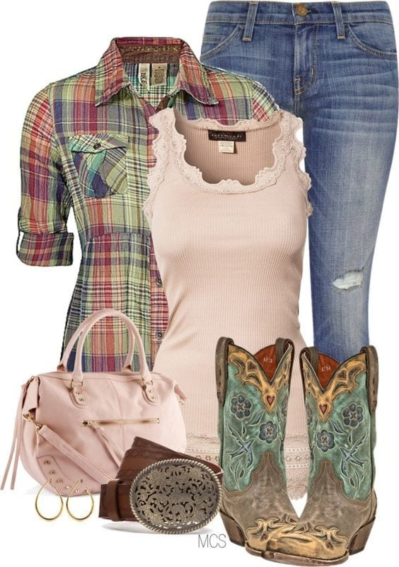 f1bb6ca76c1b20fefe2881337664c855 Country Concert Outfits For Women - 20 Styles To Try