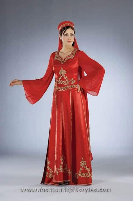 long-hijab-dresses Wedding Abayas- 30 Latest Bridal Abaya Designs Trending Now