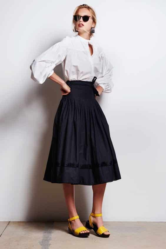 peasant-skirt-19-3 Peasant Skirts Outfits-17 Ways to Wear Peasant Skirts Rightly