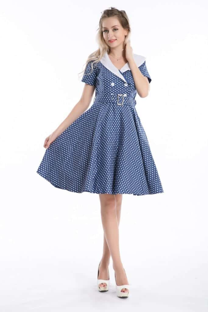 swing-dress-13-683x1024 How To Wear A Swing Dress This Summer-19 Outfit Ideas