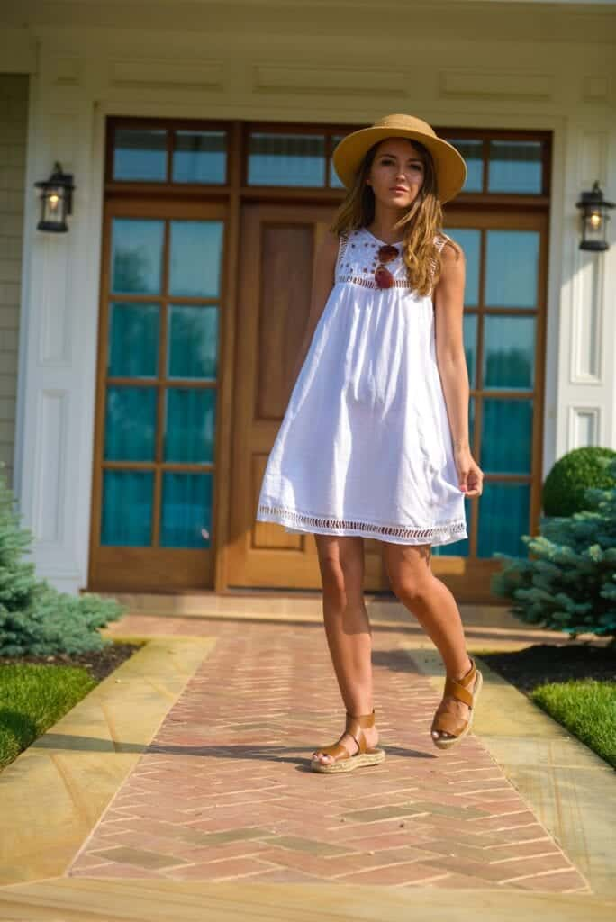 swing-dress-20-684x1024 How To Wear A Swing Dress This Summer-19 Outfit Ideas