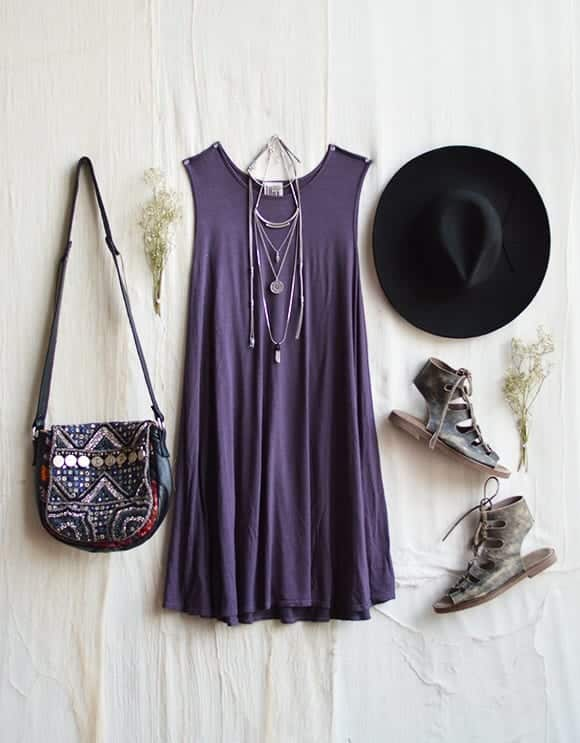 swing-dress-21 How To Wear A Swing Dress This Summer-19 Outfit Ideas