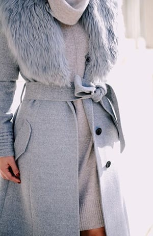 16-1 Outfits with Faux Fur Coat - 20 Ways to Wear Faux Fur Coat
