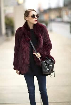 18-1 Outfits with Faux Fur Coat - 20 Ways to Wear Faux Fur Coat