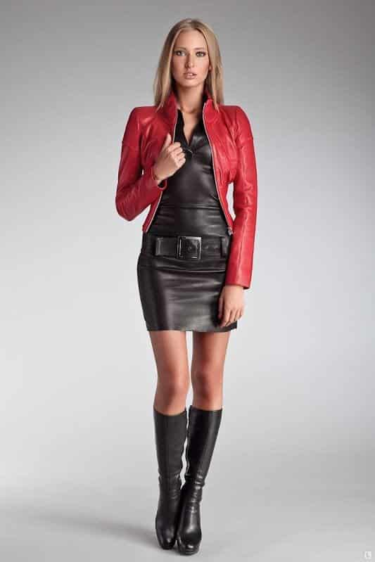 All-leather-look Autumn Outfit Ideas for Women-50 Ideas How To Dress In Autumn