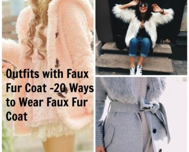 How to Wear Outfits with Faux Fur Coats (21)