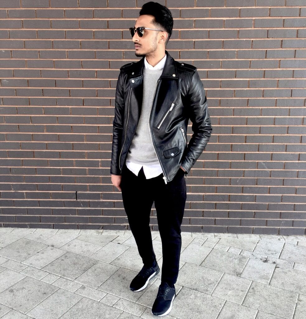 Ideas for Men to wear Leather Jackets (2)