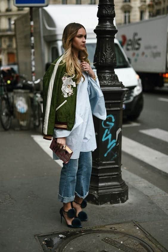 How to Wear Outfits With Bomber Jacket (25)