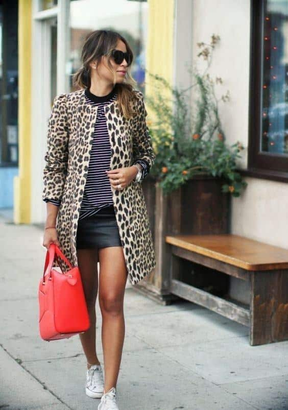rsz_cheetahprint Outfits With Converse-20 Stylish Ways to Wear Converse Shoes