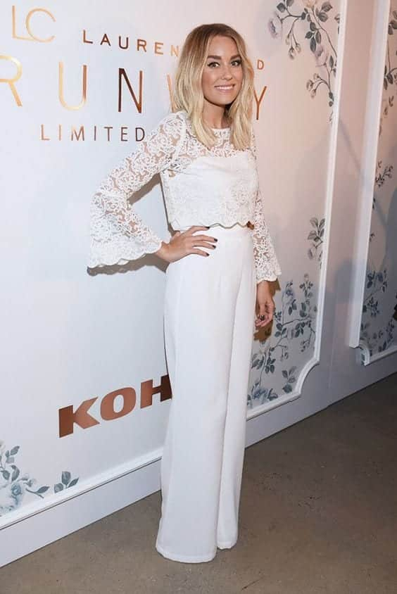 white wide leg pants celebrity style 2