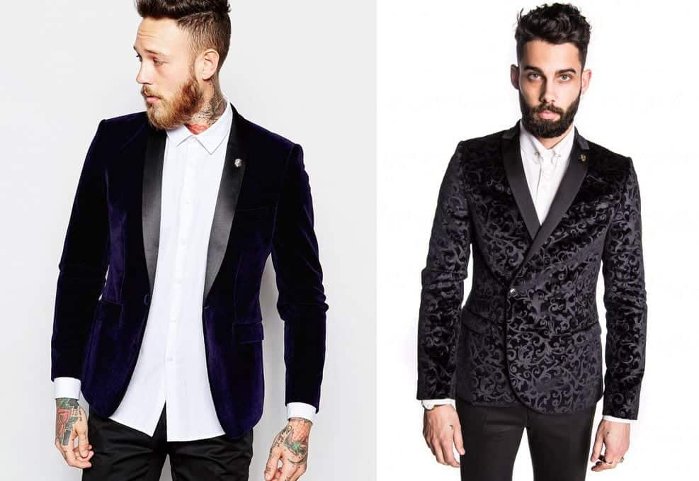 what to wear with velvet jacket