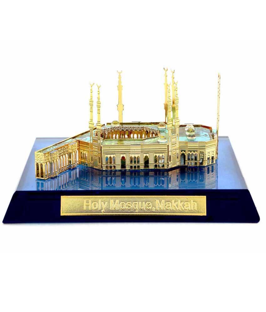 Creative-Crafts-Glass-Makkah-Showpiece-SDL995639451-1-4508b-1 Muslim Wedding Gift Ideas-20 best Gifts for Islamic Weddings
