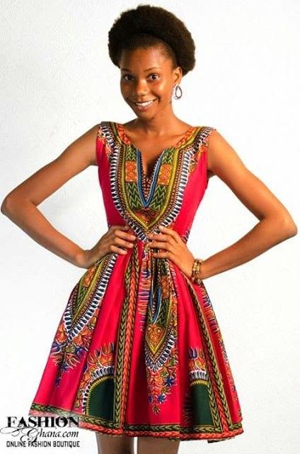 african-kitenge-5 Modern Kitenge Dresses-18 New African Kitenge Designs 2018