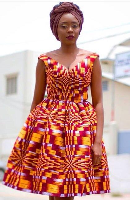 Modern Kitenge Dresses 18 New African Kitenge Designs This Year Part 2