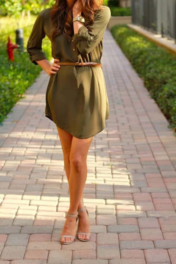 belts Petite Outfits Ideas-12 Latest Fashion Trends for Short Women