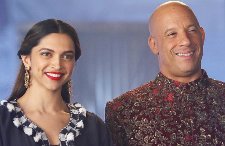 deepika Vin Diesel in Sherwani-Pictures of Deepika and Vin Wearing Sherwani