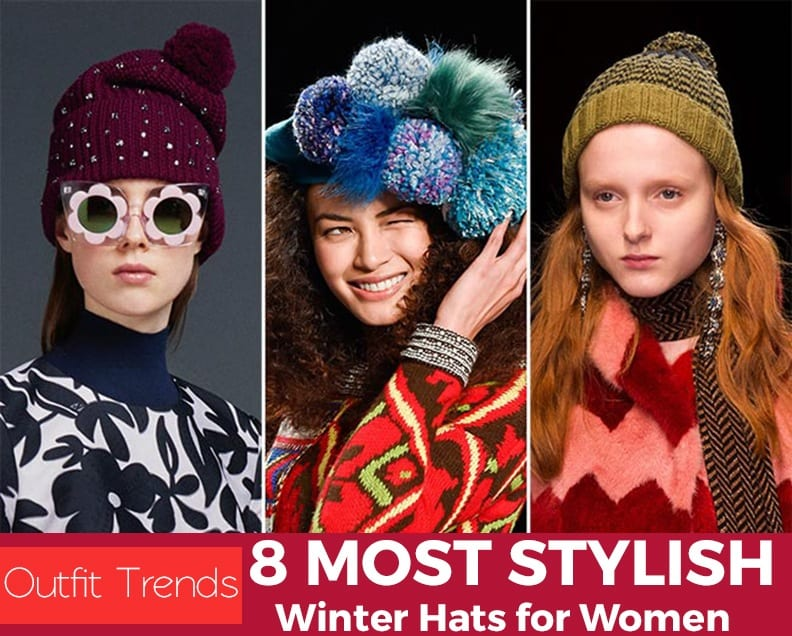 fall_winter_2015_2016_headwear_trends_pompom_hats Stylish Winter Hats for Women-These 8 Winter Hats Every Girl Must Try