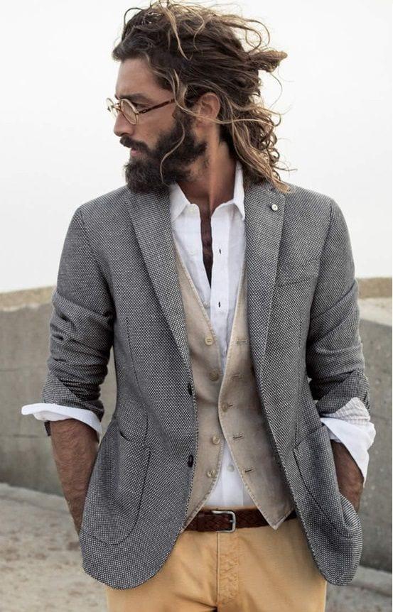 Tremendous Hippie Hairstyles For Men 27 Best Hairstyles For A Hipster Look Short Hairstyles For Black Women Fulllsitofus